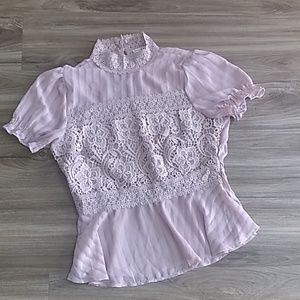 NWOT Lacey BoHo Top